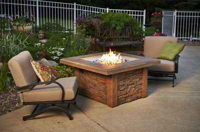 Outdoor Greatroom Firepits